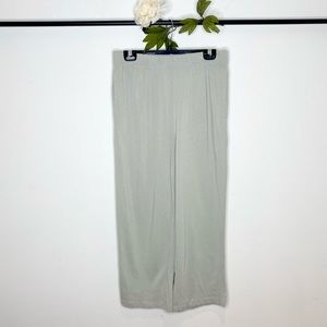 Oak & Fort Cropped Pull-On Lounge Pants